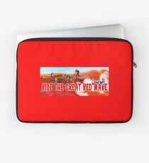 Ride The Great Red Wave Laptop Sleeve