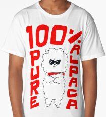 100% Pure Alpaca Long T-Shirt