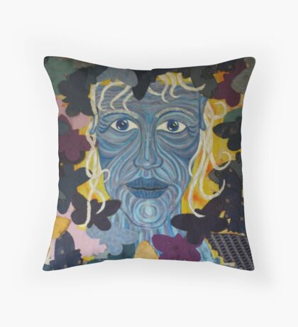 The Crone Throw Pillow