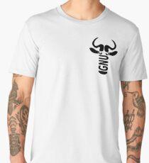 GNU linux logo head Men's Premium T-Shirt