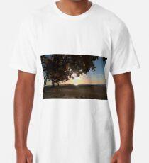 Nine o clock Sunrise Lakeshore Long T-Shirt