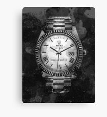 Lienzo Motivo de Rolex Watch Hustle