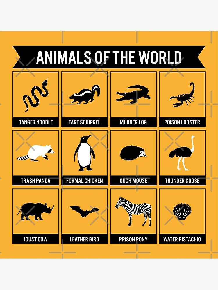 Animals of the World by mongolife