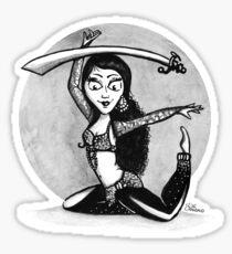 Bellydance Sticker