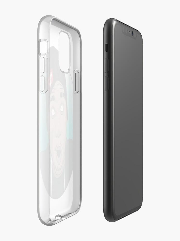coque belkin iphone 8 , Coque iPhone «Hopsin art», par andrejonas