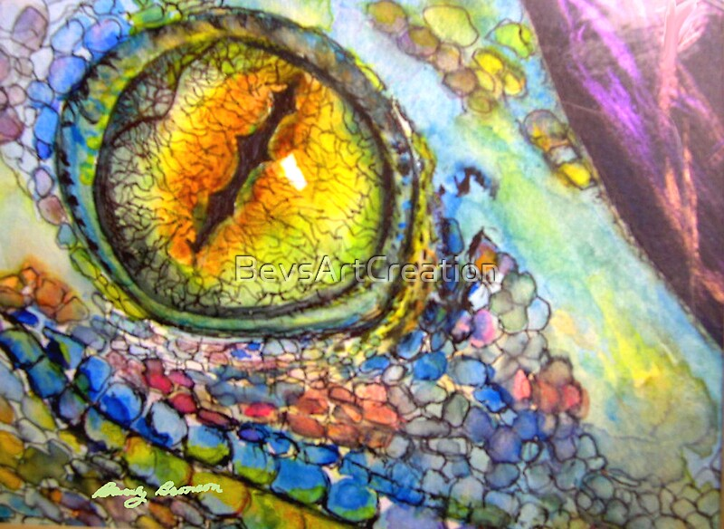 blue-eyed lizard--stand-out characteristic for secondary crew ...