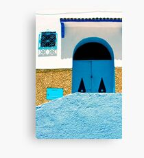 A Wall:  In Three Parts Canvas Print
