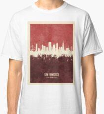 San Francisco California Skyline Classic T-Shirt