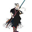Warrior Surpreme (no bkgd). by John Gieg