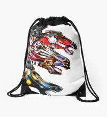 Carousel Equine Drawstring Bag