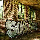 Bosherston Graffiti by Stephen Peters