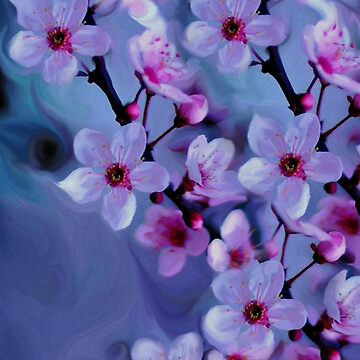 Ethereal Cherry Blossoms by FayeLangoulant