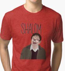 Jim Friday Night Dinner Shalom Jackie Tri-blend T-Shirt