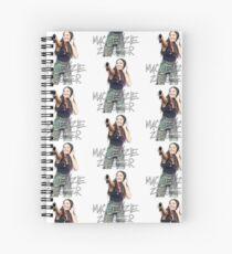 Kenzie Ziegler (Dark Hair)  Spiral Notebook