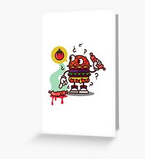 Cheeseburguer Greeting Card