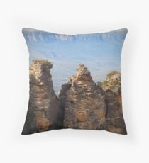 Three Sisters 2 - Katoomba Throw Pillow