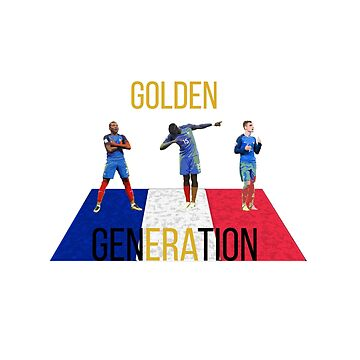France Golden Generation  by Dylster
