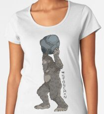 The Stoneman- North America's Strongest Bigfoot Women's Premium T-Shirt