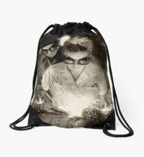 Open Heart Drawstring Bag