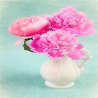 Pastel Peony Bouquet by daphsam