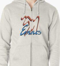 GNU Emacs logo Zipped Hoodie
