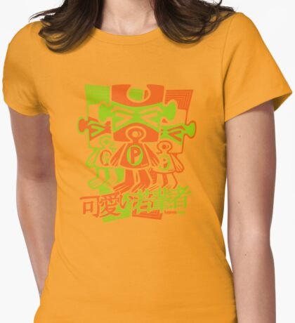 Puzzle Mascot Stencil T-Shirt