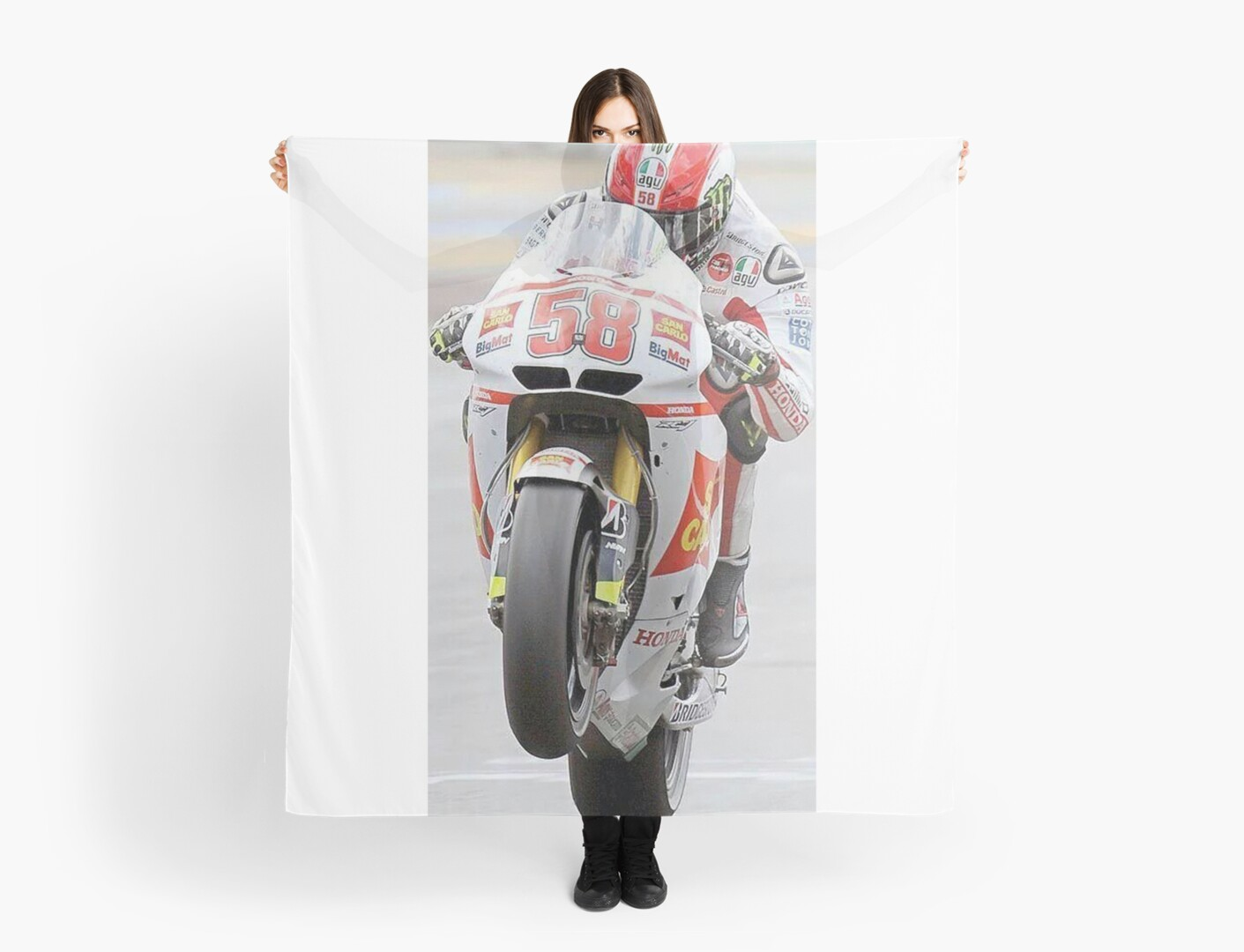 marco simoncelli 5 by Milagros M  Spears