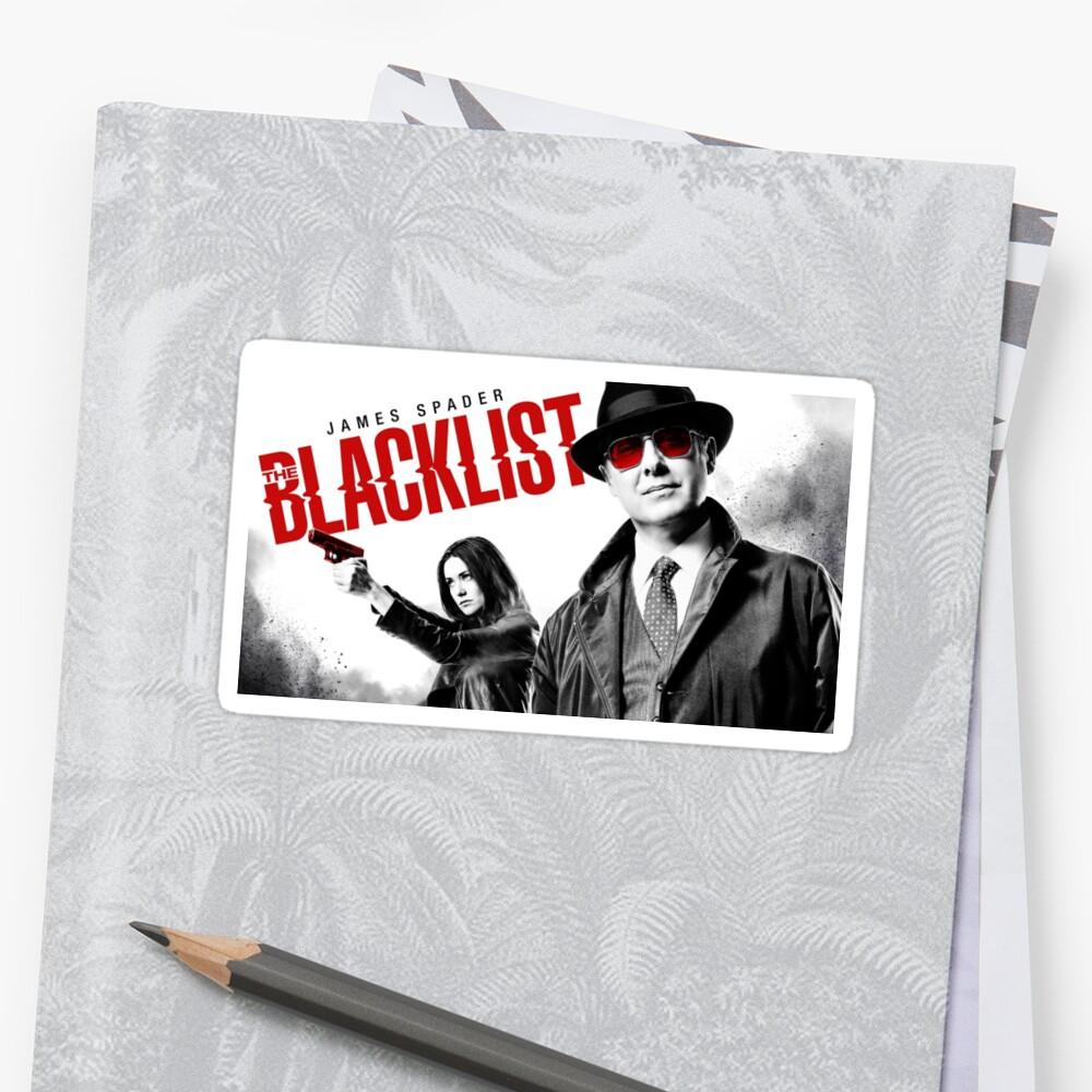 Die schwarze Liste Sticker