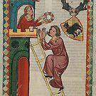 Medieval Art...Romantic Love by edsimoneit