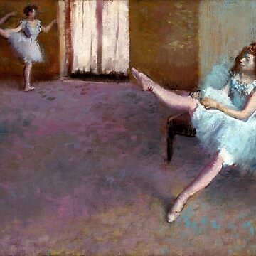 Edgar Degas Before the Ballet by pdgraphics