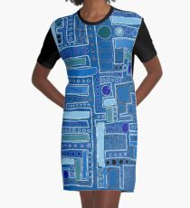 Here It Goes Again Graphic T-Shirt Dress
