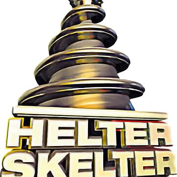 Helter Skelter Old Skool Raver Hardcore Techno DnB T-Shirts and Hoodies by ThePrintGuys