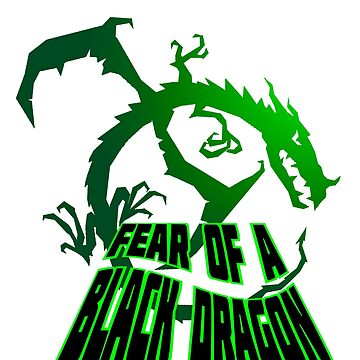 Fear of A Black Dragon by redmagus77