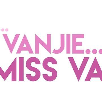 Drag Race: Miss Vanjie by fatherbananas