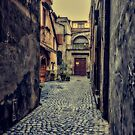 Vintage alley by Roberto Pagani
