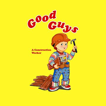 Good Guys - A Construction Worker by horror-doll
