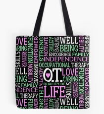 OT Occupational Therapy Occupational Therapist Gift Tote Bag