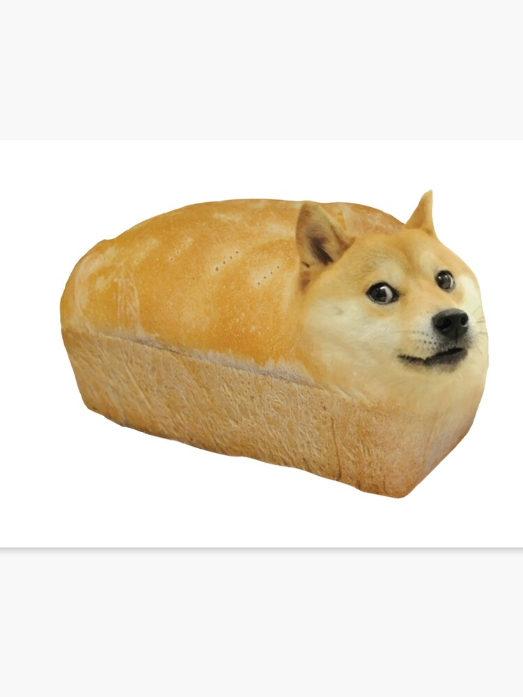Doge WOW in bread meme Kekistan #DogRight funny dog doggo memes HD HIGH  QUALITY ONLINE STORE | Canvas Print