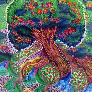 Tree of Eden Color by djsmith70
