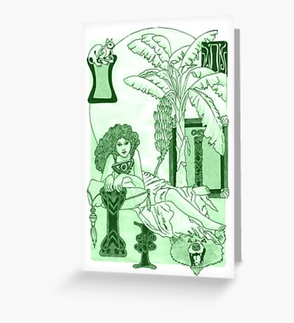 Island of Lost Souls Greeting Card