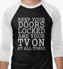 public service announcement also Men's Baseball ¾ T-Shirt