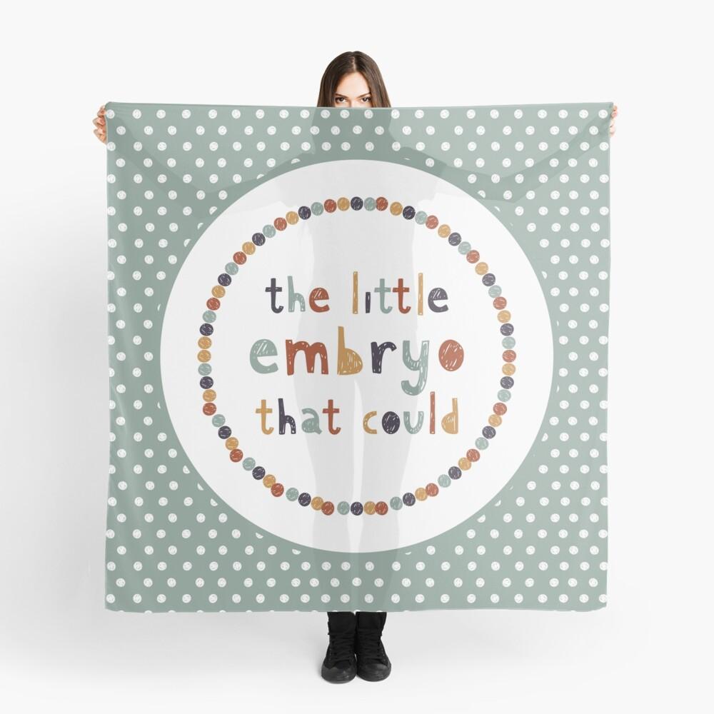 Der kleine Embryo, der das könnte Tuch