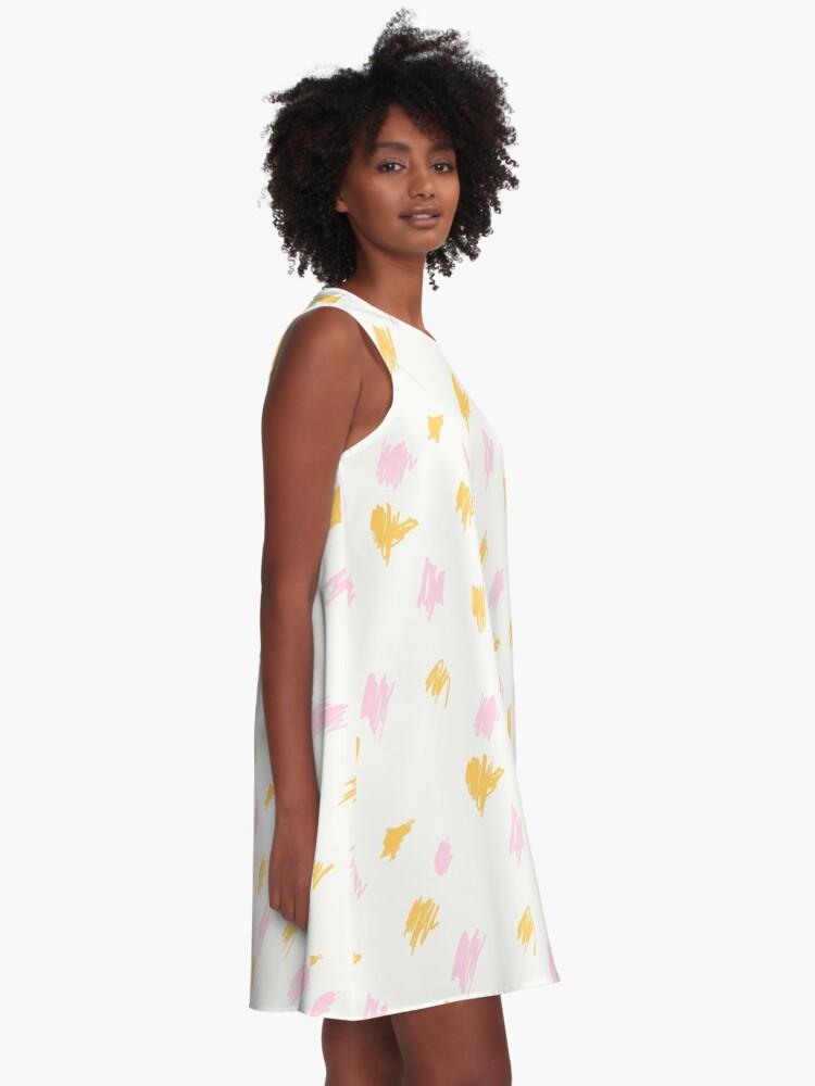 Alternative Ansicht von Ohne Titel A-Linien Kleid