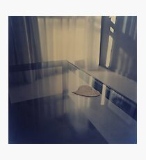 Love heart on table - Hasselblad 500cm hand made darkroom color print Photographic Print
