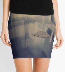 Love heart on table - Hasselblad 500cm hand made darkroom color print Mini Skirt
