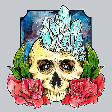 Galaxy Crystal Skull by jjlockhART