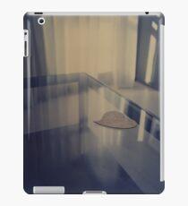 Love heart on table - Hasselblad 500cm hand made darkroom color print iPad Case/Skin
