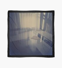 Love heart on table - Hasselblad 500cm hand made darkroom color print Scarf