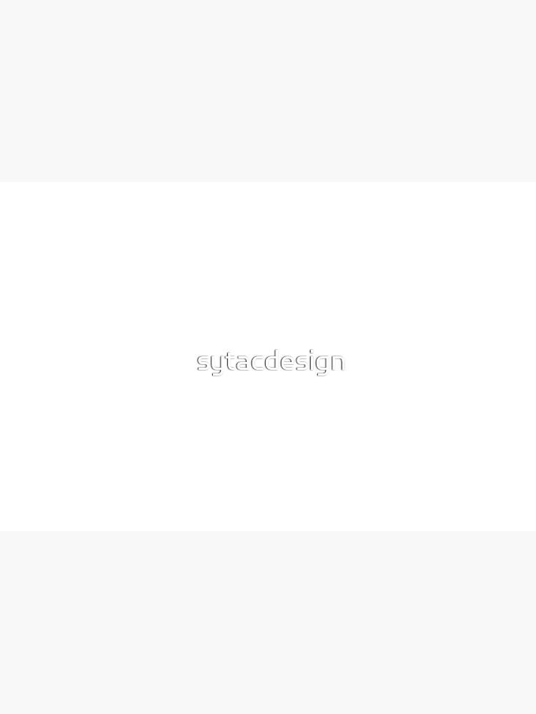 Wattsefack als Spruch in weiss von sytacdesign