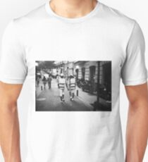 Gay lgbt sailors Chueca Spain analog 35mm film street photo Unisex T-Shirt